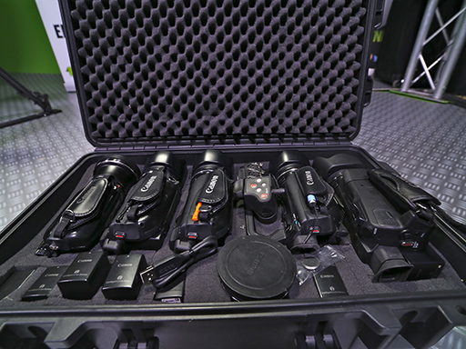 valise cameras